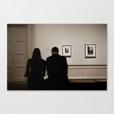 Art For Two Canvas Print