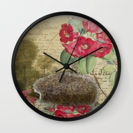 The Hedgehog Wall Clock