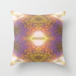 Shiny egg /segmentation Throw Pillow
