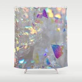 Aurora Borealis Crystals Shower Curtain