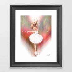 Lost In The Dance Framed Art Print