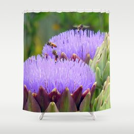 Bee-utiful Shower Curtain