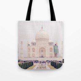 Beautiful man-made wonder Taj Mahal Tote Bag