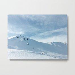 mammoth mountain summit. Metal Print