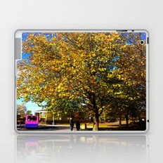 An Autumn Stroll Laptop & iPad Skin
