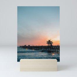 San Clemente Pier 03 Mini Art Print