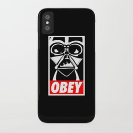 Obey Darth Vader - Star Wars iPhone Case