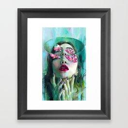 Refraction of the Spotless Mind Framed Art Print