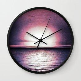 Sunset in Pegasus Wall Clock