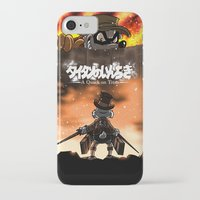 attack on titan iPhone & iPod Cases featuring A Quack on Titan by ADobson