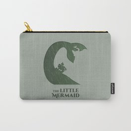 The Little Mermaid Minimalistic Carry-All Pouch
