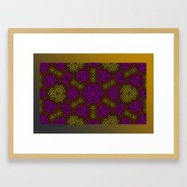 Blue Green Black 1 Framed Art Print