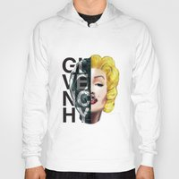 givenchy Hoodies featuring Sin by Givenchy by Javier Camacho