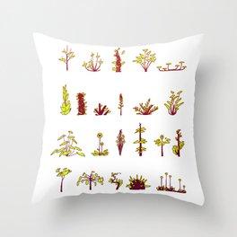 Plants plants plants Throw Pillow