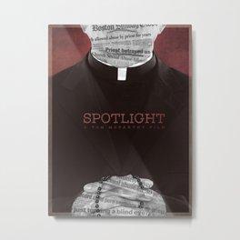 Spotlight (2015) Poster Metal Print