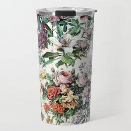 Adolphe Millot - Fleurs C - French vintage poster Travel Mug