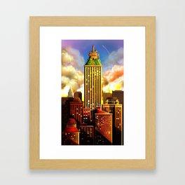 A bautiful day Framed Art Print