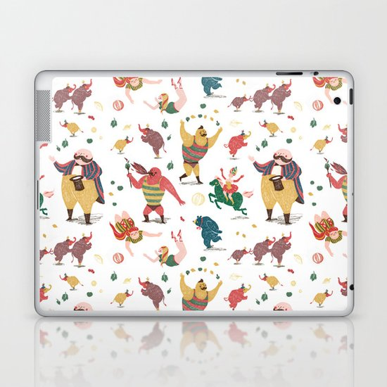 The Circus is coming to town! Laptop & iPad Skin