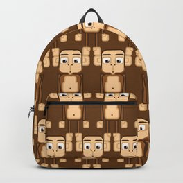 Super cute animals - Cheeky Brown Monkey Backpack