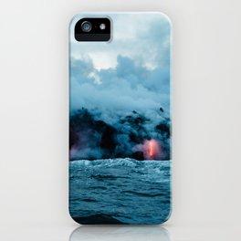 Vulcano ocean iPhone Case