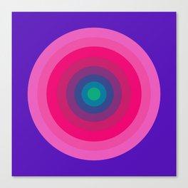 Panton Retro Target Canvas Print