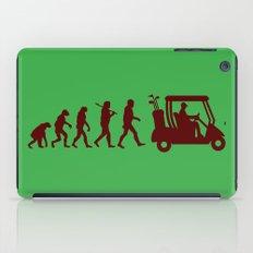 Evolution - golf iPad Case