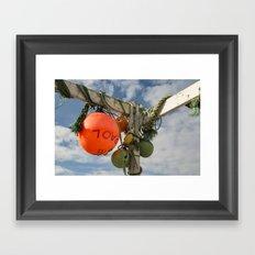 Flotsam Jetsam Framed Art Print