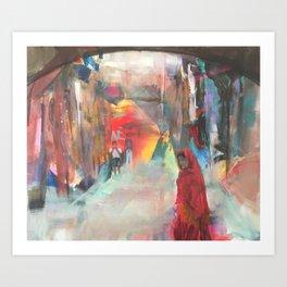 Marrakesch  Art Print