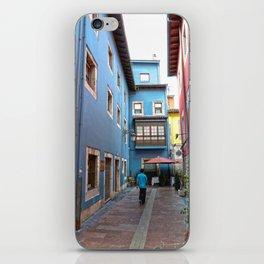 Ribadesella streets 2 iPhone Skin