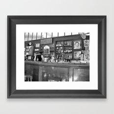 Bar in Old Havana, Cuba Framed Art Print