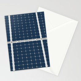 Solar Cell Panel Stationery Cards