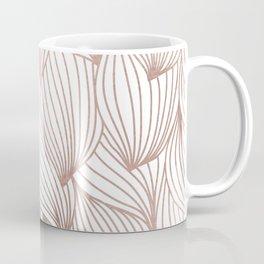 Rose gold petals Coffee Mug