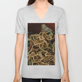 Asia Noodles Unisex V-Neck