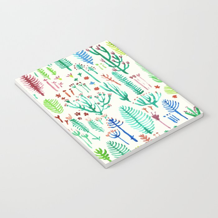tROPICAL COLORS PLANTS Notebook