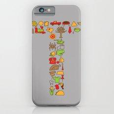 Letter T iPhone 6s Slim Case