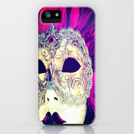 Venetian Women Of Mystery Mask iPhone Case