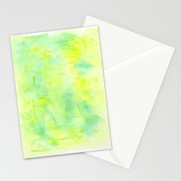 Greenery Abstract Stationery Cards