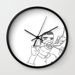 I Love True Crime - Masculine Version Wall Clock