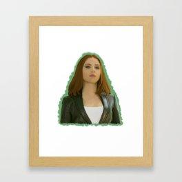 """Neither Am I"" Framed Art Print"