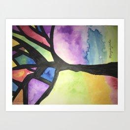 The Tree of Faith Art Print