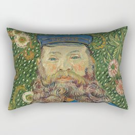 Van Gogh Postman- Portrait of Joseph Roulin Rectangular Pillow