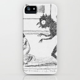 The Bogey Owl iPhone Case