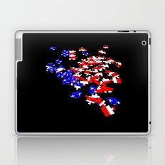 patriotic jigsaw Laptop & iPad Skin