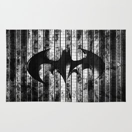 Bat in the shadow Rug