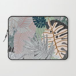 Sun Bleached Army Green Leaves Laptop Sleeve
