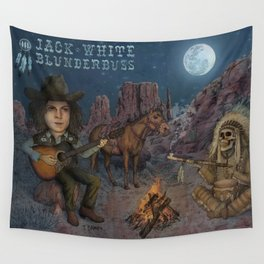 Jack White - Blunderbuss Wall Tapestry