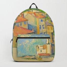 """Paul Cezanne """"Gardanne"""" Backpack"""