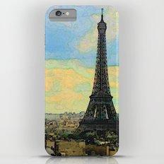 Watercolor Dream of Paris Slim Case iPhone 6 Plus