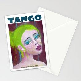 Chica tanguera por Diego Manuel Stationery Cards