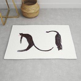 languid cats Rug